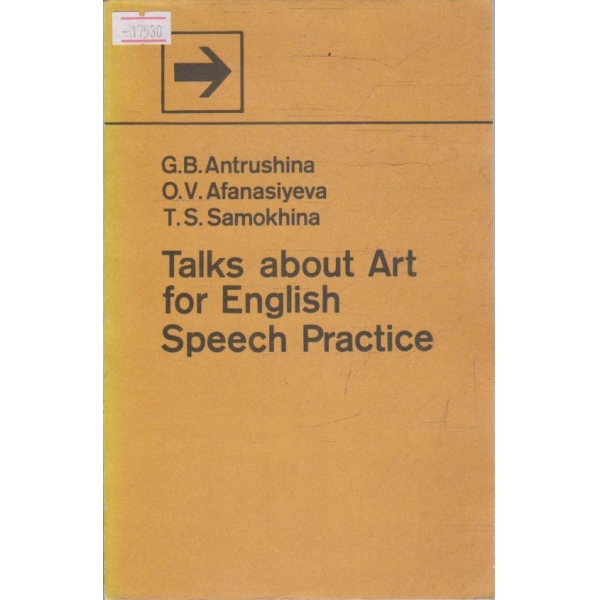 Talks about Art for English speech practice