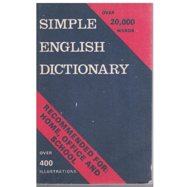 Simple English dictionary - 20 000 words