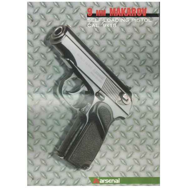 9 мм Makarov - self loading pistol cal.9x18