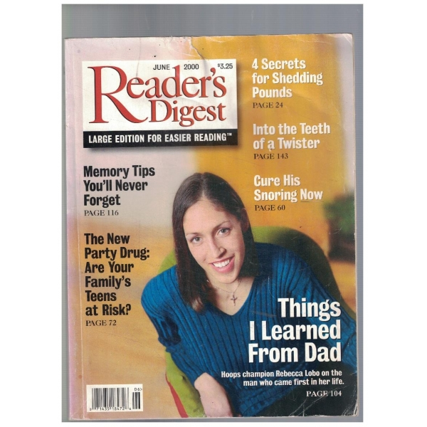 Readers Digest june 2000