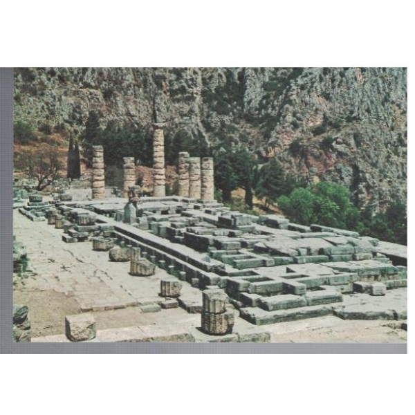 Delphi - view of the Apolo Temple