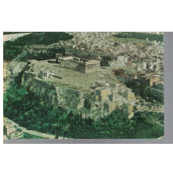 Athens - The Acropolis as seen by air