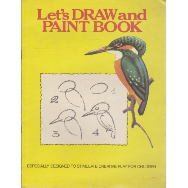 "Let""s draw and paint book-за оцветяване"