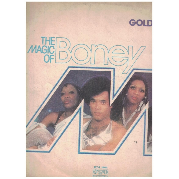 The magic of BONEY M - Golden hits ВТА 1882
